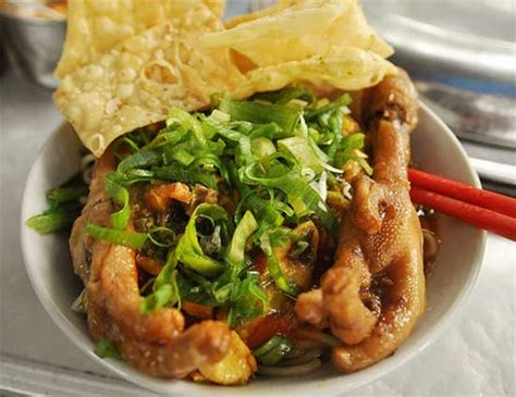 resep membuat mie ayam spesial cara membuat mie ayam ceker spesial lihat resep