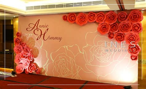 Wedding Backdrop Graphic by Printing Backdrop Design
