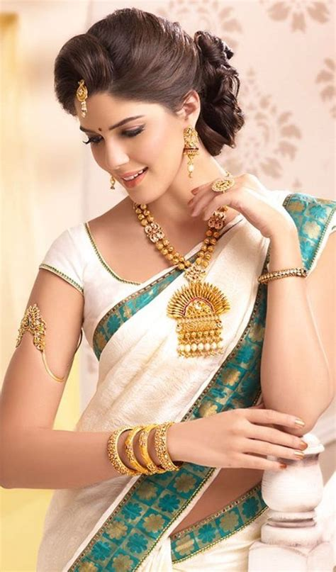 40 beautiful women wearing heavy gold jewelry stylishwife traditional indian saree 40 gorgeous looks http