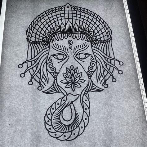 tattooshop ganesh eindhoven ganesh tattoo design by genotas on deviantart