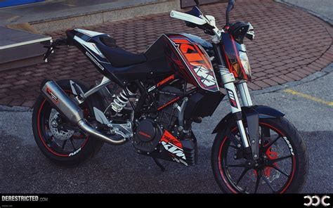 Powerparts Ktm 2012 Ktm 125 Duke Powerparts Bike Derestricted