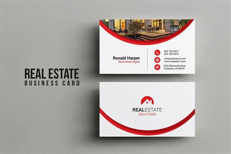 Illustration Caricatures Real Estate Business Cards Templates Free by Real Estate Business Card Business Card Templates