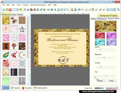 invitation card design software online wedding cards design software to create marriage