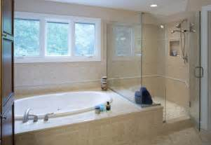 Bath And Shower Combined Walk In Shower And Bath Combinations Thraam Com
