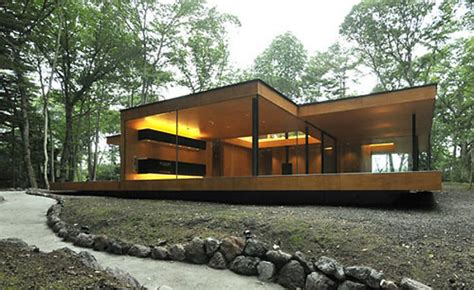 house for the weekend japanese weekend house by dasic architects thecoolist the modern design