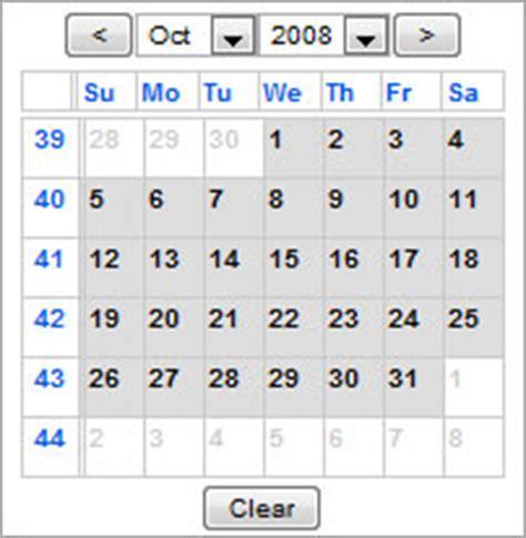 Epoch Calendar Javascript Factory Javascript Calendars