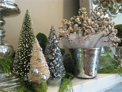 our elegant and even glamorous christmas mantel
