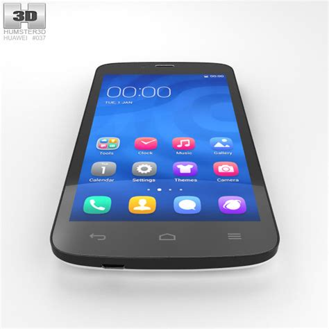 Hp Huawei Honor 3c Play huawei honor 3c play white 3d model hum3d