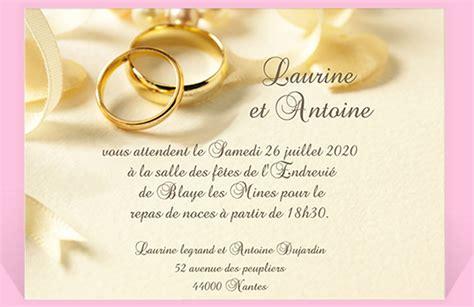 Modèle De Lettre D Invitation Pour Un Mariage Id 233 E Modele Invitation Mariage
