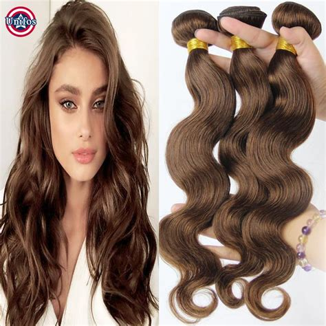 medium chocolate brown hair extensions remy indian hair medium brown wave hair weave 4 chestnut human hair extensions wave 100