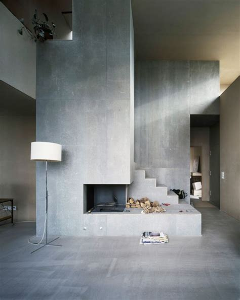 interior concrete walls industrial chic concrete isn t just for sidewalks anymore