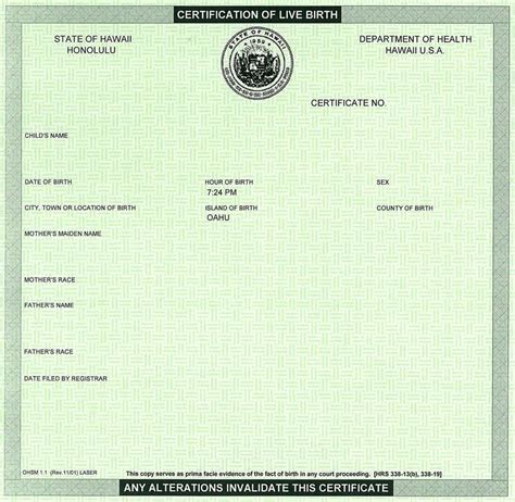 official birth certificate template us birth certificate template choice image certificate