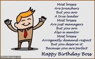 birthday wishes for boss quotes and messages