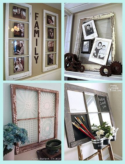 the woven home home decor projects old window picture frame ideas for old windows diy home crafts got the window