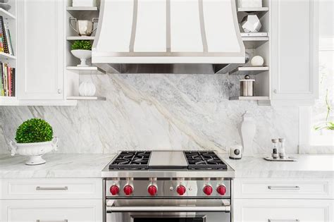 small white kitchen with steel hood small kitchen hood design ideas