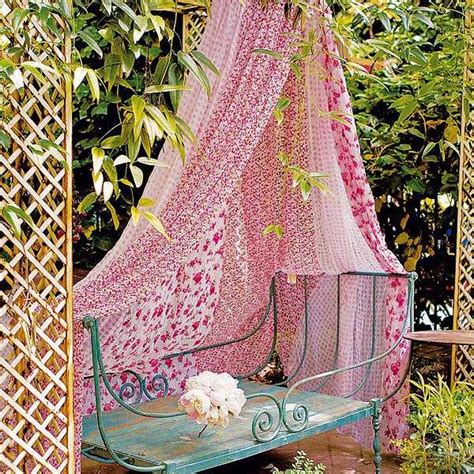 home fabrics for outdoor decor beautiful summer 20 diy outdoor curtains sunshades and canopy designs for