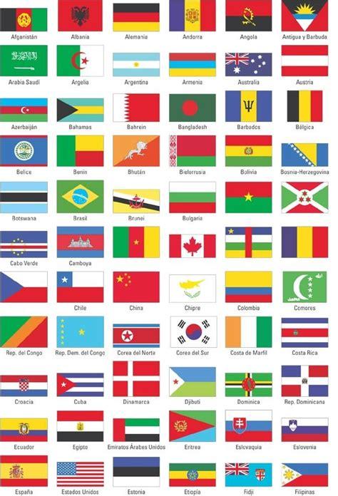 imagenes de banderas de paises todas las banderas de todos los pa 237 ses con sus nombres