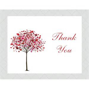 tree thank you cards style 501 whimsicalprints
