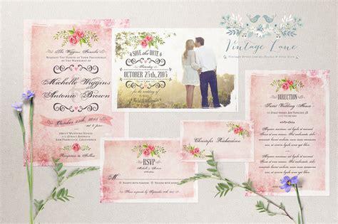 Wedding Invitations Vintage Style by Wedding Invitations