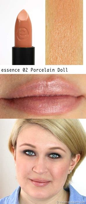 essence porcelain doll 02 review swatches essence lasting lippenstift