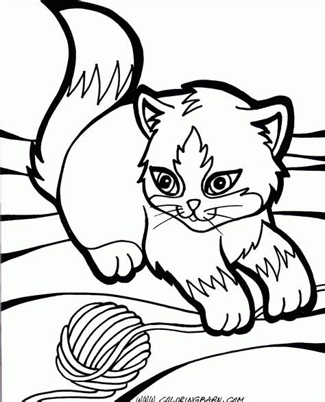 Picture Of A Cat To Color by Cat Coloring Pages For Adults Bestofcoloring