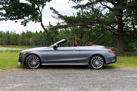 mercedes mercedes test drive 2017 mercedes amg c43 cabriolet exhausted ca