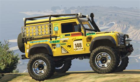 mod land rover defender land rover defender 90 add on replace gta5 mods