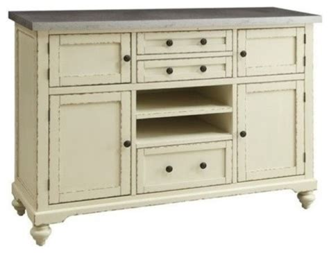 metal sideboard buffet bowery hill metal top buffet antique white buffets and