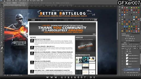 better battlelog better battlelog getbblog contest website design