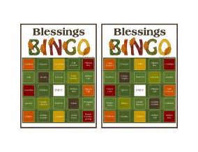 more thanksgiving ideas blessings bingo my heart amp home