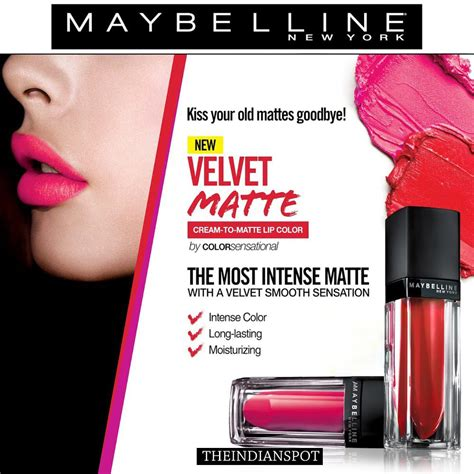 Maybelline Velvet Matte top 10 maybelline products available in india new