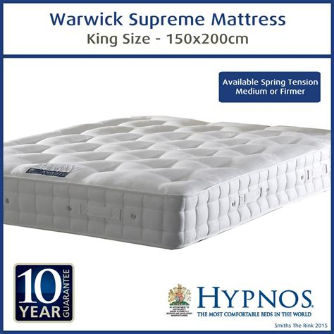 hypnos warwick supreme king size mattress at the best prices