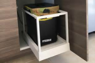 Kitchen Recycling Bins For Cabinets How Ikea Trash Bin Cabinets Affect Your Kitchen Design