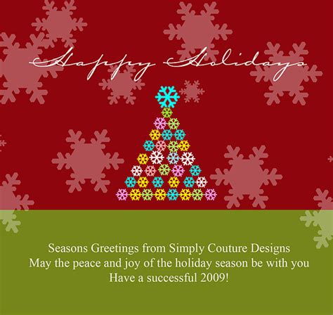 seasons greetings templates free image gallery card templates