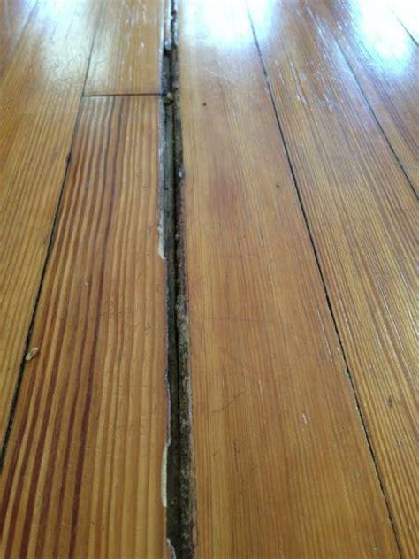 Filling huge gaps in hardwood floors   DoItYourself.com