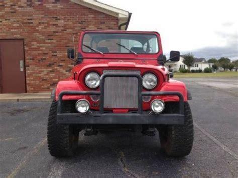 1985 Jeep Wrangler For Sale Find Used 1985 Jeep Wrangler Cj7 In Greenville South