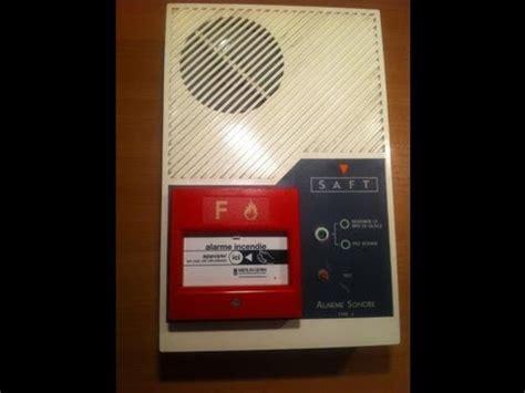 alarme incendie salle des fetes chambres voix sonnerie mp3 ancien tableau d alarme incendie