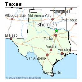 best places to live in sherman