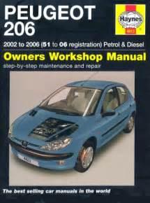 Peugeot 206 Owners Manual Pdf Peugeot 206 Petrol And Diesel Service And Repair Manual