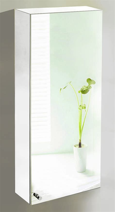 Large Mirrored Bathroom Wall Cabinets 304 Stainless Steel Large Wall Mirror Bathroom Cabinet Ebay