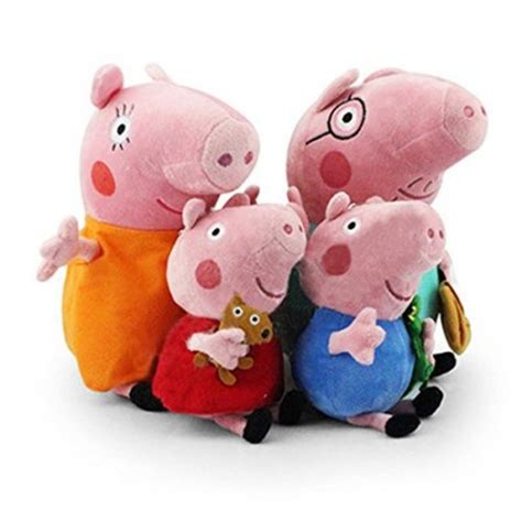 Elephant Figurines Peppa Pig Jeux Et Jouets Pour Fille De 2 Ans 3 Ans 4