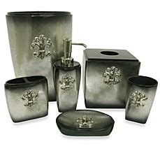 fleur de lis bathroom set bacova fleur de lis bathroom accessory collection bed