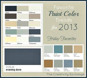 paint colors for room favorite paint color trends for 2013 friday favorites