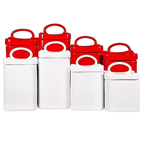 bed bath and beyond ca wavy square canisters set of 4 www bedbathandbeyond ca