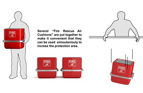 Fire Rescue Air Cushion Fire Rescue Air Cushion For Better High Rise Building