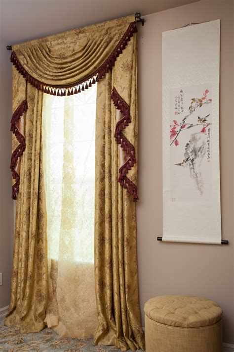 style unltd made to order curtains photos of rod pocket custom order 133 versailles rose swag valances curtain