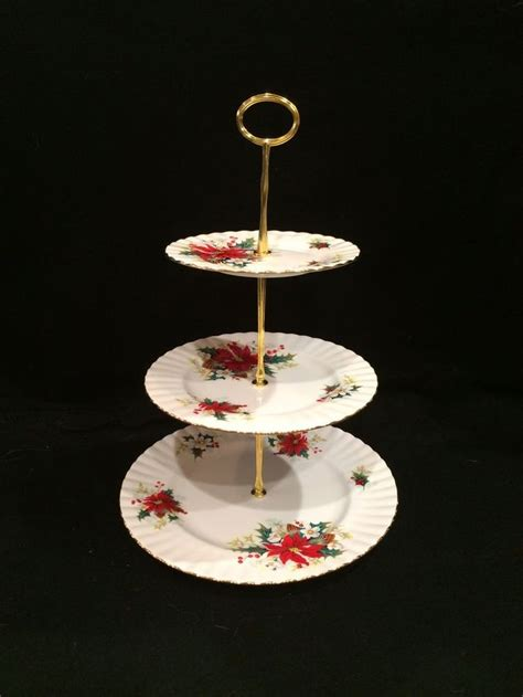 plate stands for china cabinet royal albert bone china poinsettia christmas 3 tier cake