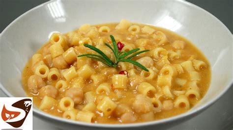 cucina semplice e gustosa pasta e ceci facile gustosa e salutare primi piatti