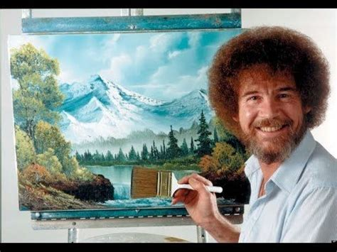 bob ross painting lesson resim sevinci the of painting with bob ross 18