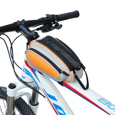 Bicycle Bag free shipping mountain bicycle bag bike cycling frame front top bags bike 4 colors outdoor